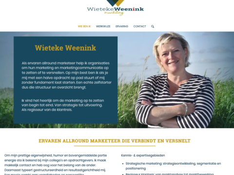 website Wieteke Weenink