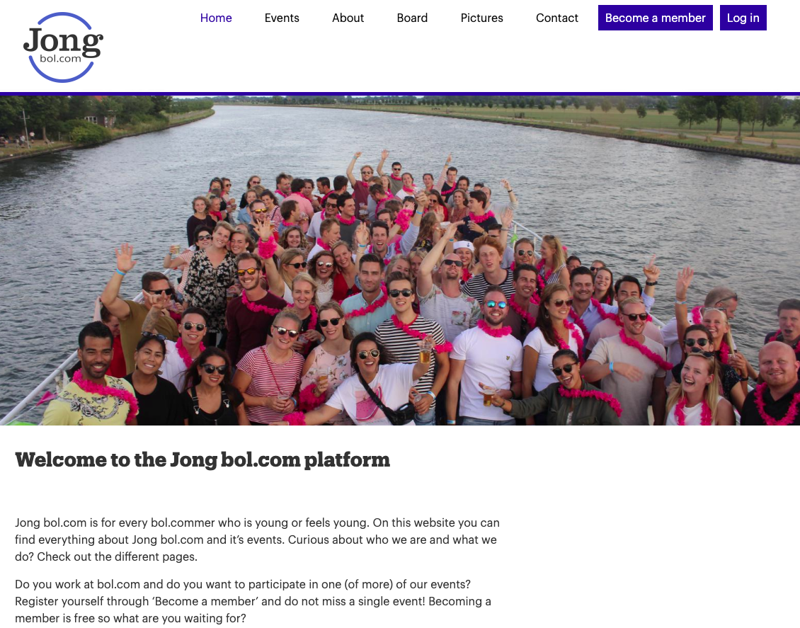 nieuwe website jongbol.com